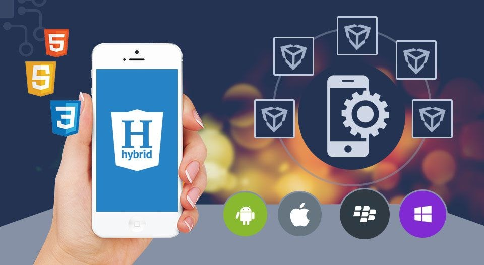 Hybrid apps examples