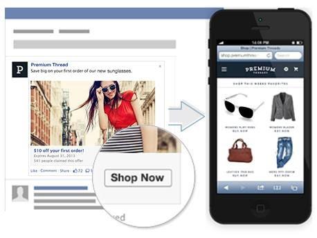 Quảng cáo liên kết Facebook Ads