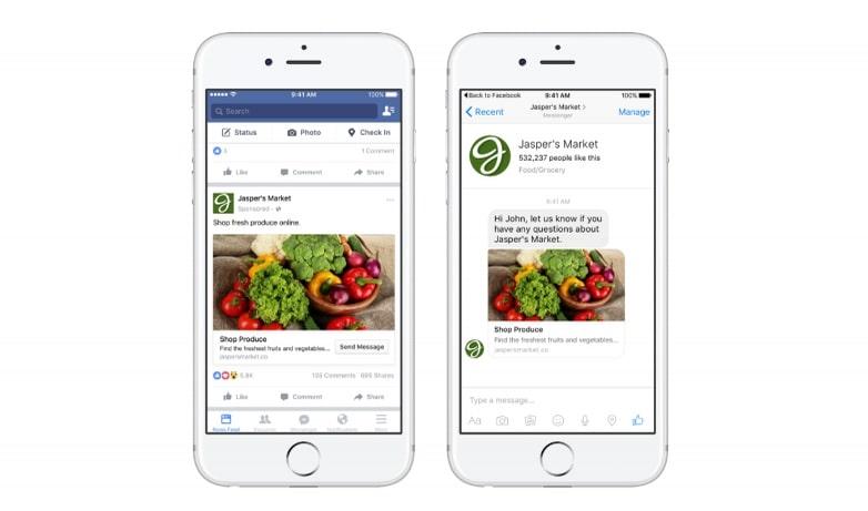 Facebook Ads là gì trên Messenger