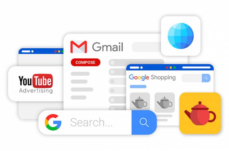 Hình thức hiển thị Google Smart Shopping